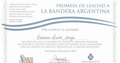 diplomas para imprimir jura de la bandera diploma de promesa de lealtad a la bandera