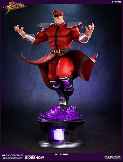 Pop Culture M by Fighter M Bison Statue By Pop Culture Shock
