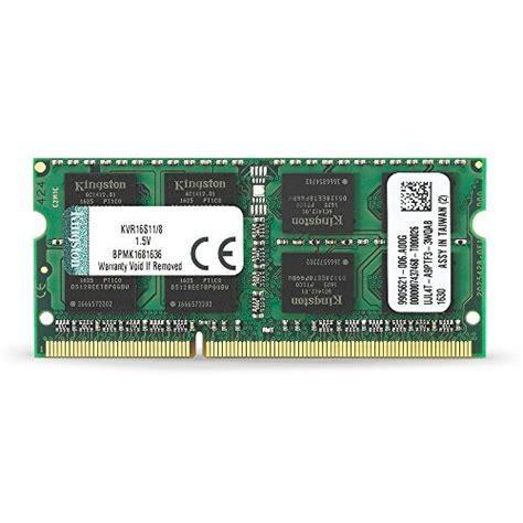 Kingston 2gb Ddr3l Pc12800 Sodimm Notebook Ram kingston technology 8gb 1600mhz ddr3l non ecc cl11 sodimm