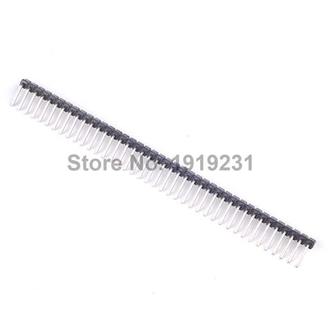 40 Pin 2 54mm Pitch Single Row Seat Pin Socke compare prices on pcb pin header shopping buy low
