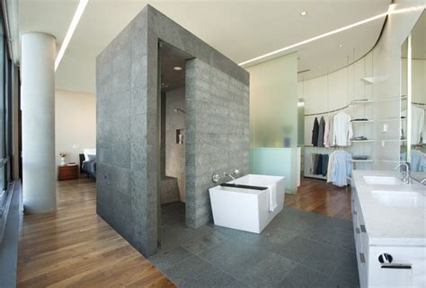 Modern Bathroom Looks Uptown Penthouse Modern Bathroom Minneapolis By Altus Architecture Design