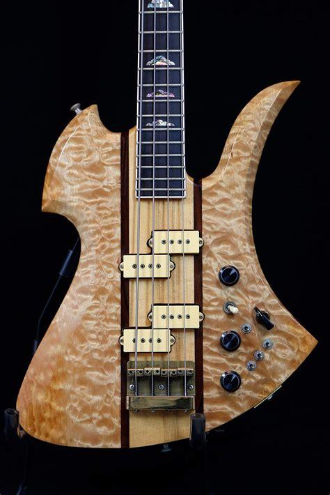 bc rich supreme sold 1983 bc rich mockingbird supreme bass 5a quilt