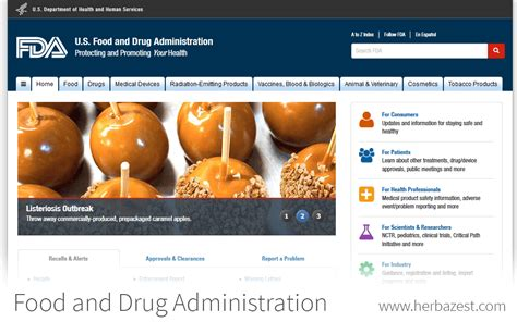 Food And Drug Administration Medwatch Report | food and drug administration herbazest