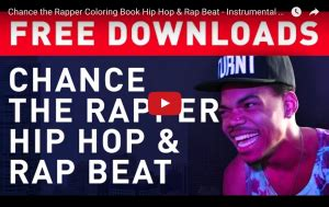 coloring book chance the rapper instrumental free chance the rapper hip hop rap beats