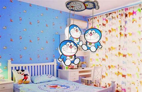 wallpaper dinding kamar doraemon desain kamar tidur tema doraemon terbaru info bisnis