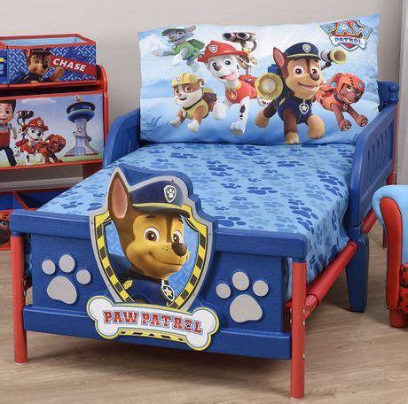 toddler bed sheet sets walmart paw patrol toddler bed sheet and pillowcase set walmart