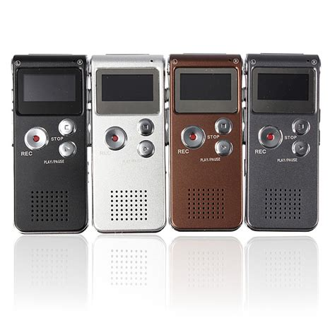 810 8gb Rechargeable Digital Voice Recorder Mp3 With Ti Murah rechargeable 8gb 650hr digital audio voice recorder