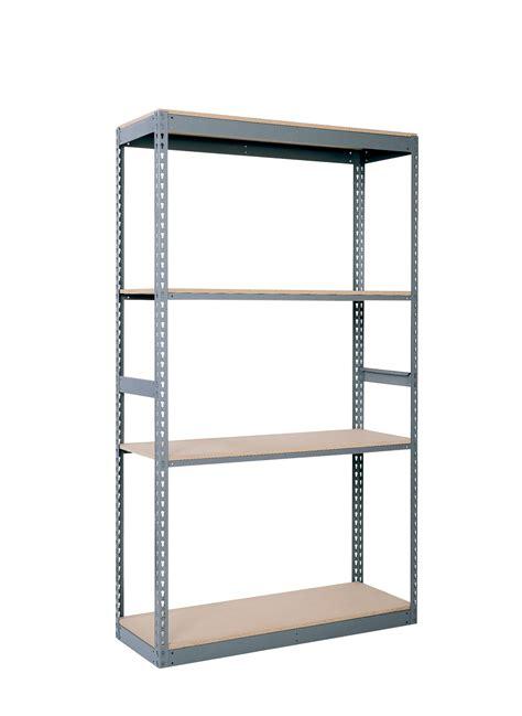 Particle Board Shelf by Republic Original Wedge Lock Shelf 48 In W X D Particle