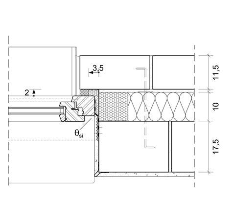 Fensterbank Din by 4 4 1 6 Anschlusspunkt Fenster Architektenordner