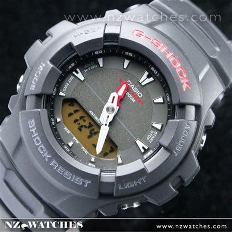 Casio G Shock Ga100 Dualtime buy casio g shock 200m alarm dual time g 101 1a buy watches casio nz watches