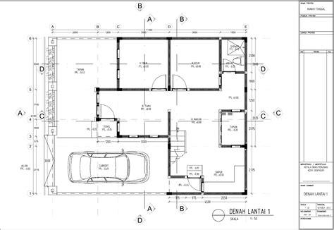 contoh gambar imb rumah tinggal tipe 120 m2