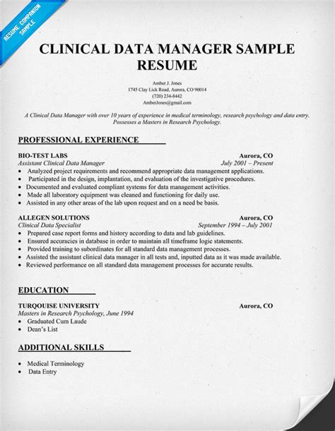 Clinical Manager Sle Resume by Anesthesia Resume Exle