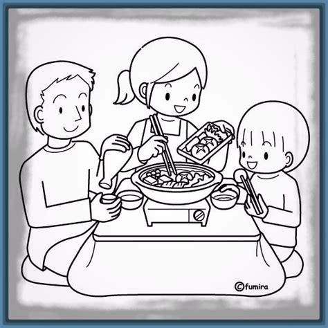 imagenes de una familia para dibujar faciles agradables imagenes de familia comiendo imagenes de familia