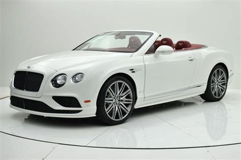 2016 bentley continental gt speed w12 convertible