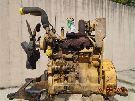 engine john deere  oem engine complete john deere  dozer running