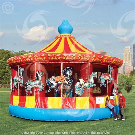 Backyard Carousel by Bouncy Castle Rental Toronto Cotton Machine Rental