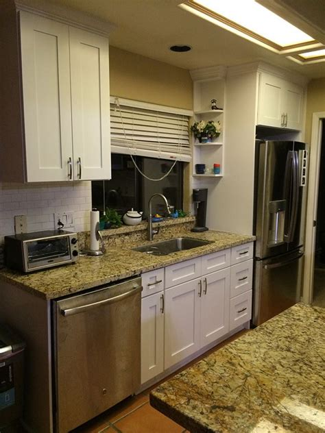 kitchen cabinet kings quot our white shaker style cabinets from kitchen cabinet