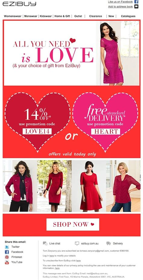 the best newsletter ideas for valentine s day