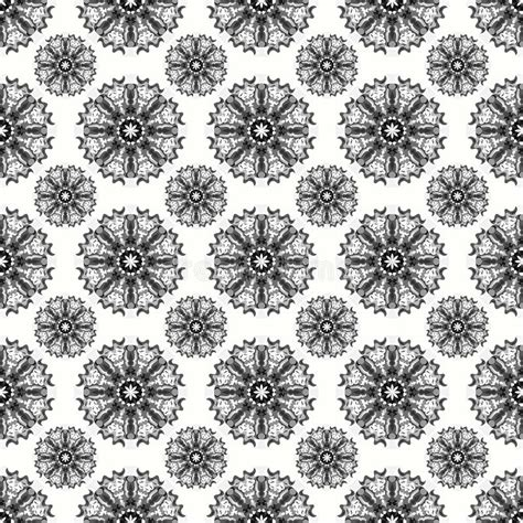 abstract snowflakes seamless pattern background royalty beautiful abstract gray snowflakes on a white background