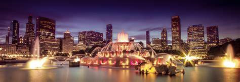 Tablette De Nuit 1633 fonds d ecran usa fontaine gratte ciel chicago ville nuit