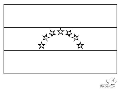 imagenes para colorear la bandera de venezuela dibujo de la bandera de venezuela con 8 estrellas para
