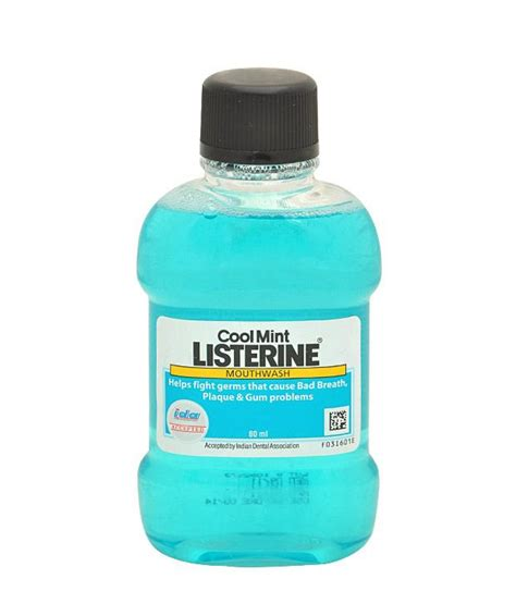 Listerine Antiseptic Mouthwash Ukuran 80ml listerine coolmint mouthwash 80 ml otclc80 care lowest prices available on listerine