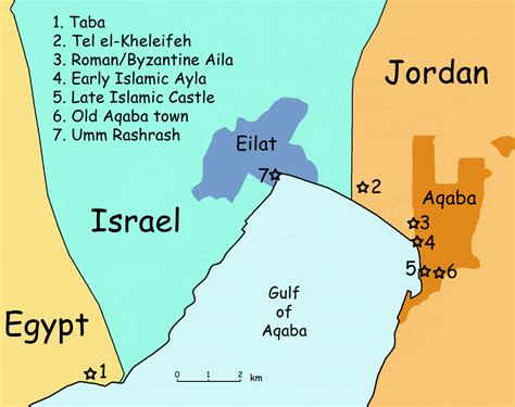 middle east map gulf of aqaba 3 countries in 90 minutes or that time we took a taxi
