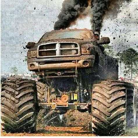 dodge mud truck 12 best monster trucks images on pinterest