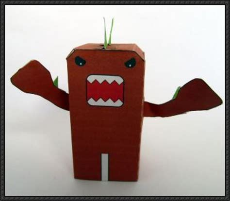 Domo Papercraft - papercraftsquare new paper craft domo zilla free