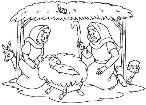 imagenes para colorear nacimiento de jesus nacimiento de jesus para colorear dibujos cristianos