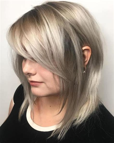how to cut side swept bangs over forty 40 side swept bangs to sweep you off your feet
