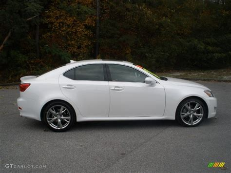 lexus white 2010 2010 starfire white pearl lexus is 250 56481459 photo 2