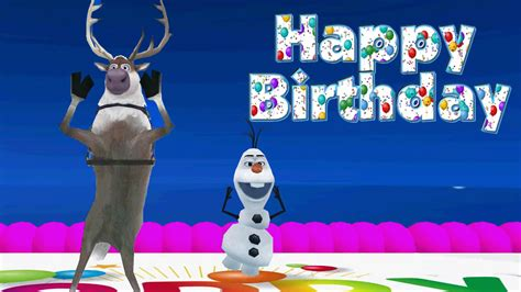 wallpaper frozen happy birthday happy birthday olaf www pixshark com images galleries