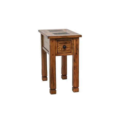 designs sedona end tables designs sedona end table in rustic oak 3143ro cs