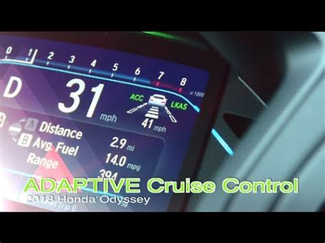 honda odyssey testing adaptive cruise control blind spot safety features youtube