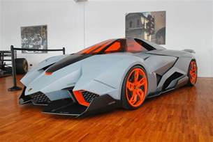 we get up to the lamborghini egoista