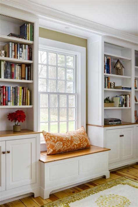 window seat with bookshelves 12 best images about book shelf on window