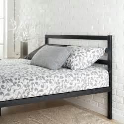 Platform 1500h metal bed frame mattress foundation with headboard