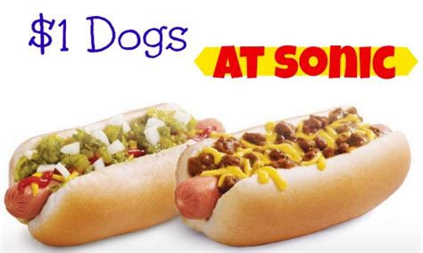 sonic 1 dogs sonic 1 dogs 7 23 southern savers