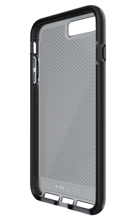 Tech 21 Iphone 7 Evo Check Smokey Black tech21 evo check smokey black iphone 8 7 plus cases protectors mobile phones