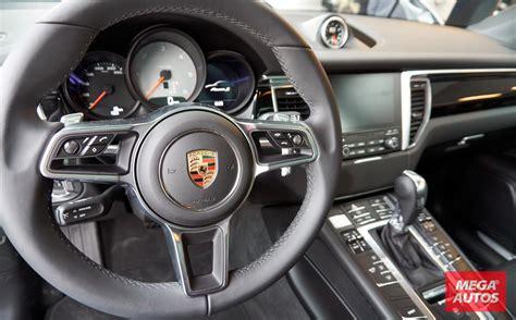 porsche macan interior porsche macan con nuevas versiones en mega autos