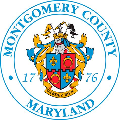 Montgomery County Maryland Records File Emblem Of Montgomery County Maryland Svg