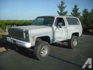 77 chevy blazer k5 parting out kingsburg for sale in