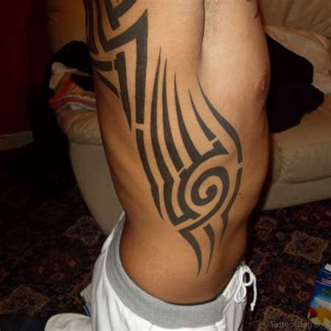 54 best tribal tattoos for rib