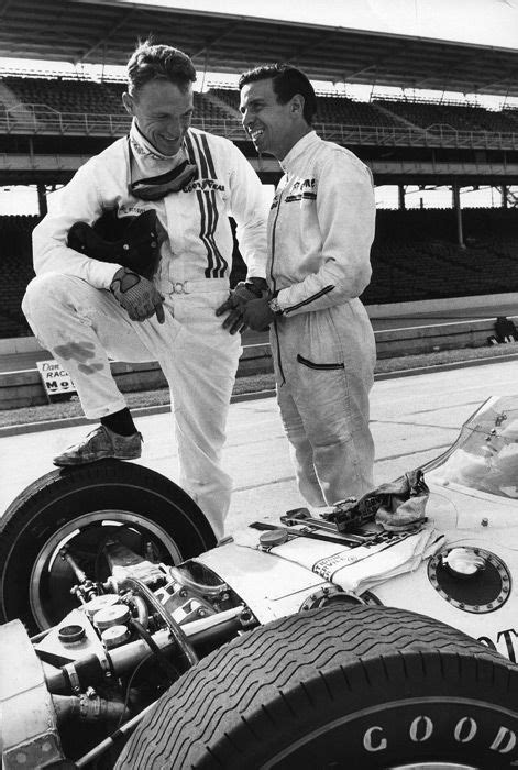 Dan Gurney & Jim Clark. Clark feared Gurney more than any
