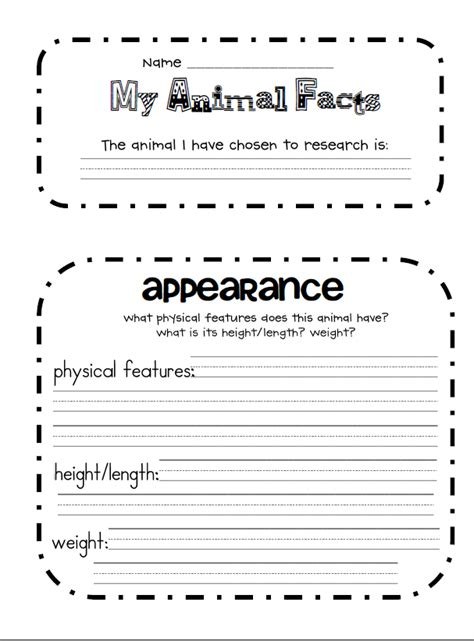 best photos of 2nd grade research paper template 2nd