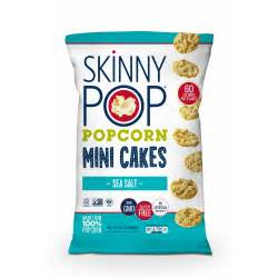 bj s wholesale skinny pop sea salt mini popcorn cakes 13 oz bj s