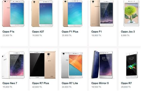 oppo mobile prices oppo mobile bangladesh price list of all model september