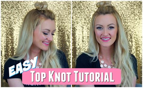clip on top knot for men easy half up top knot tutorial cashmere hair clip in