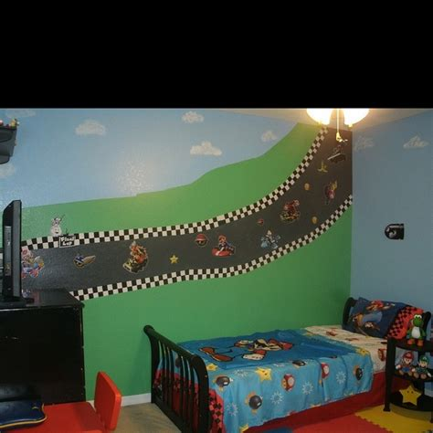 mario bedroom decor mario kart bedroom idea owen pinterest